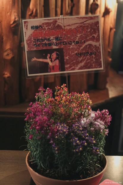 2019/3/31(日) 珠居ちづる生誕祭@新宿SAMURAI お客様が贈ってくださった「リナリア」の花